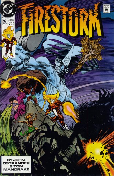 Firestorm #97 written by John Ostrander