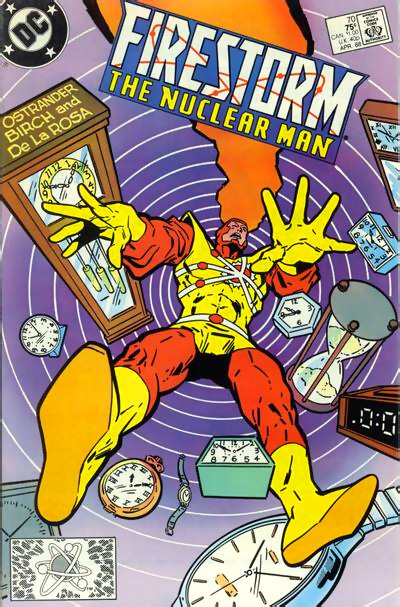 Firestorm the Nuclear Man #70