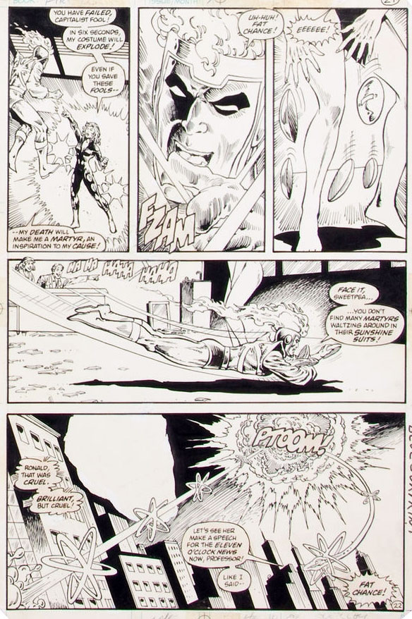 Fury of Firestorm #7 by Gerry Conway, Pat Broderick, and Rodin Rodriguez