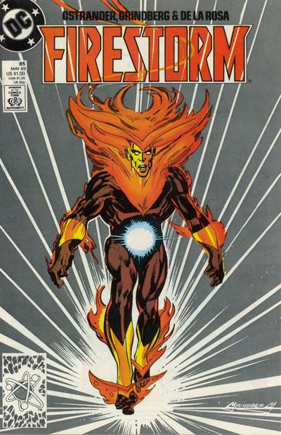 Firestorm volume II #85 cover by Tom Grindberg