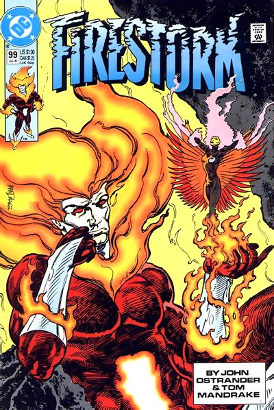Firestorm #99 by John Ostrander and Tom Mandrake