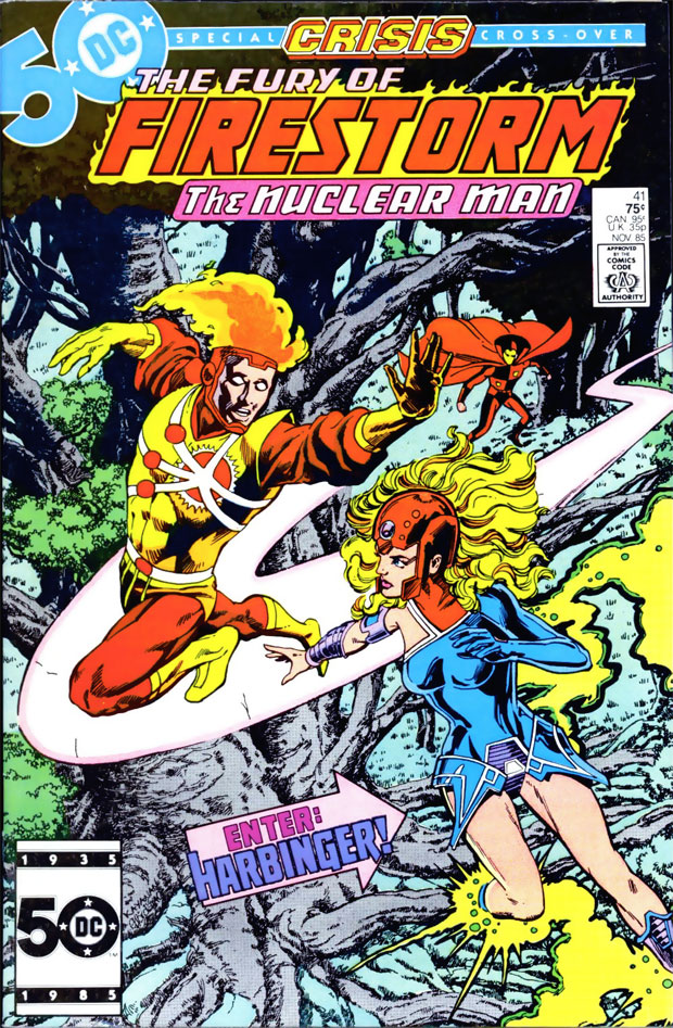 Fury of Firestorm #41 cover dated November 1985