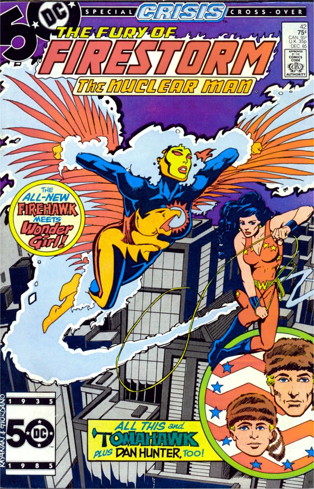 Fury of Firestorm #42 by Gerry Conway and Rafael Kayanan