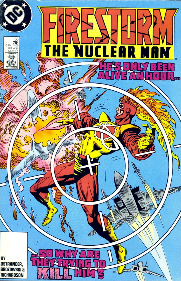 Firestorm the Nuclear Man #65 cover by Ross Andru