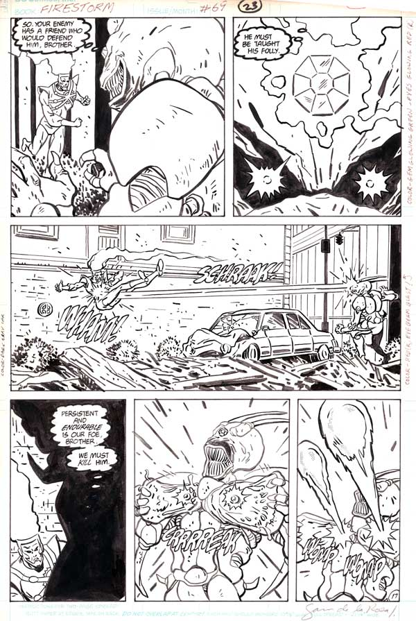 Firestorm the Nuclear Man v2 #69 page 17 by J.J. Birch and Sam de la Rosa