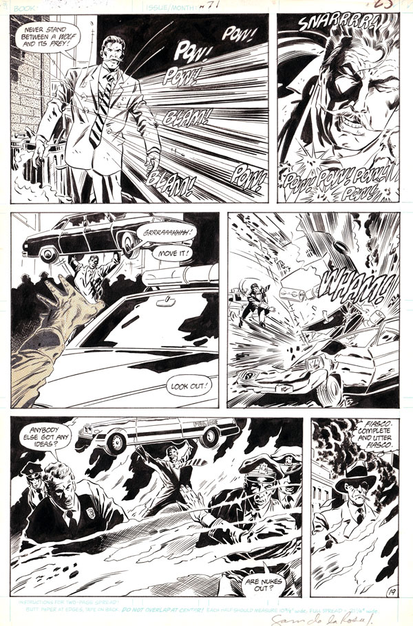 Firestorm the Nuclear Man v2 #71 page 19 by Joe Brozowski and Sam de la Rosa