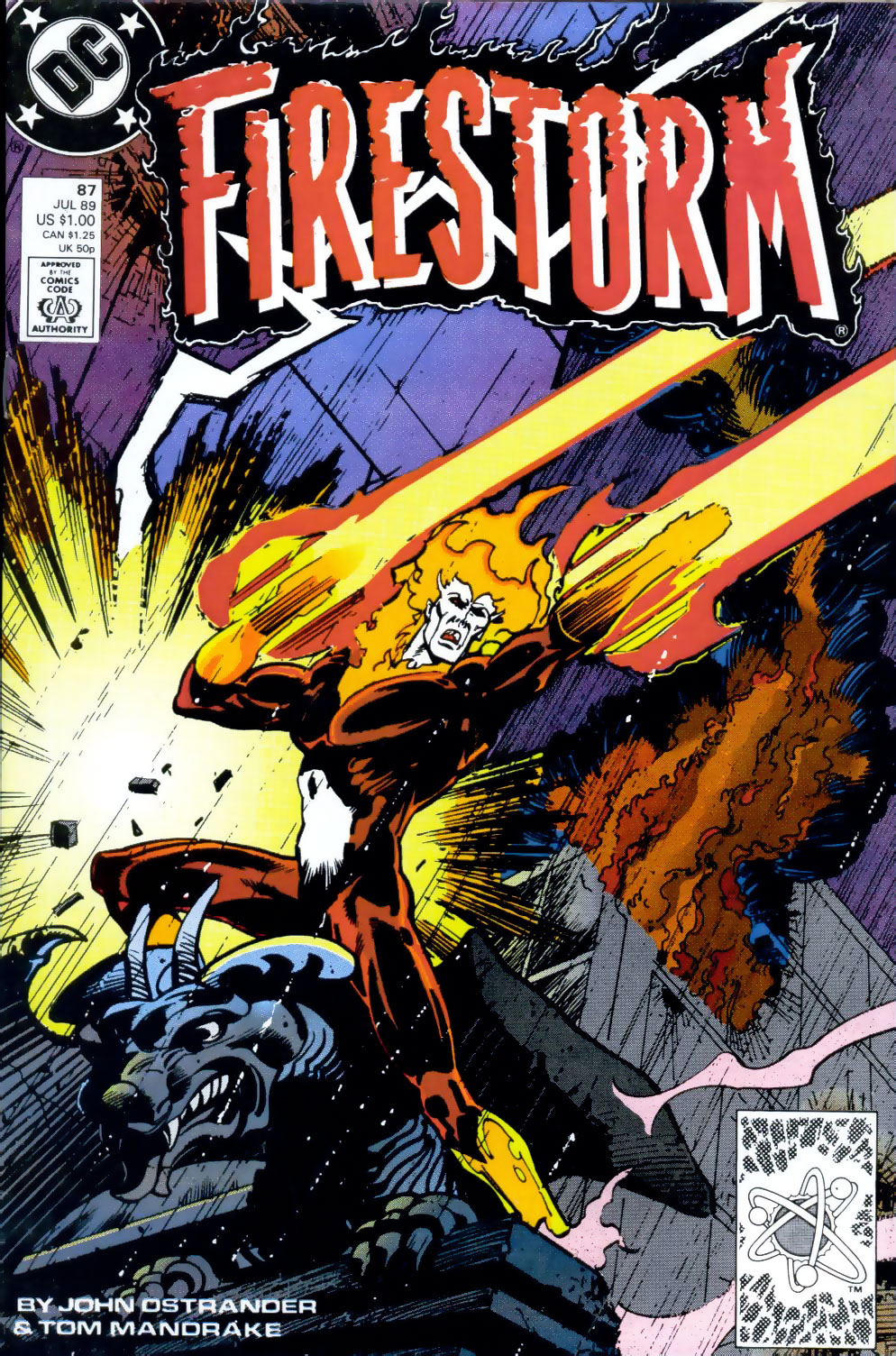 Firestorm #87 by John Ostrander and Tom Mandrake