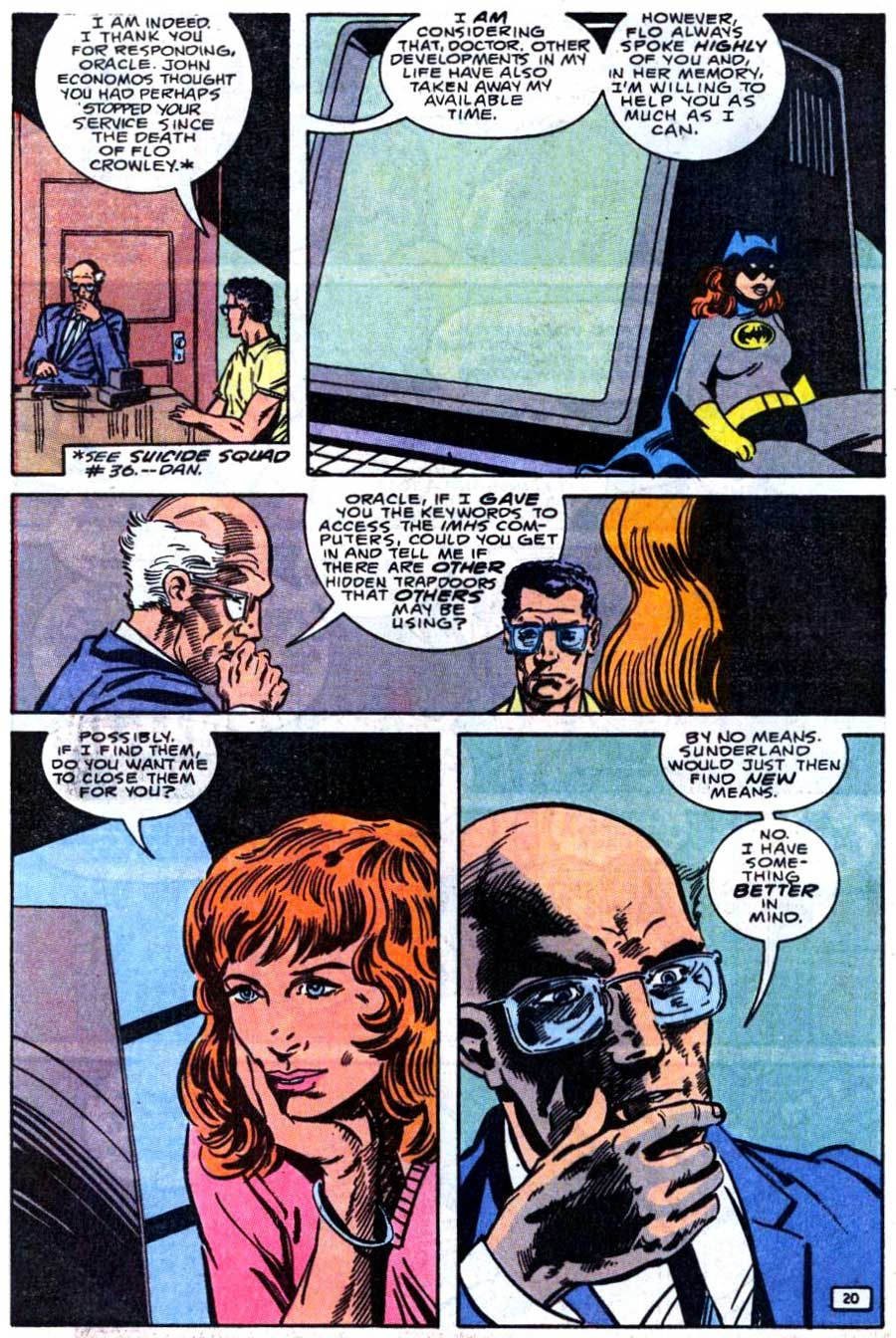 Barbara Gordon Oracle from Firestorm #98