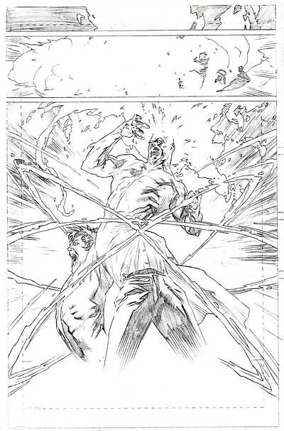 Firestorm volume III artwork by Lewis LaRosa