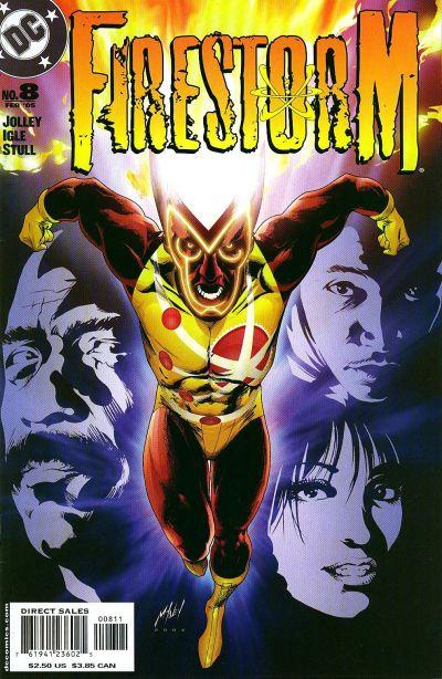 Firestorm volume III #8 cover by Matt Haley