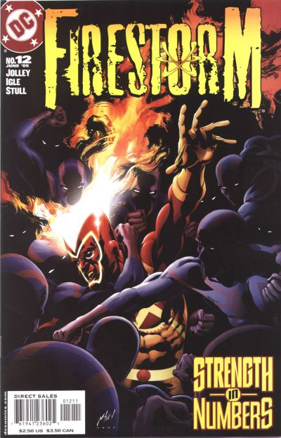 Firestorm volume III #12 - Jason Rusch and Ronnie Raymond