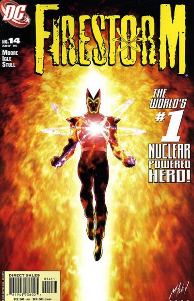 Firestorm #14 by Stuart Moore and Jamal Igle