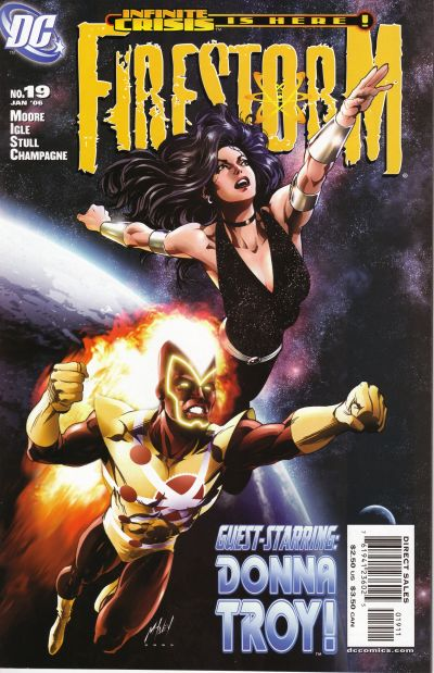 Firestorm by Stuart Moore and Jamal Igle, cover by Matt Haley