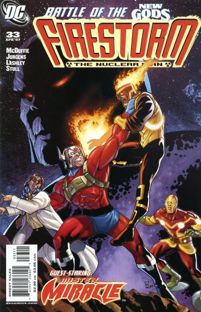 Firestorm vol III #33 by Dwayne McDuffie