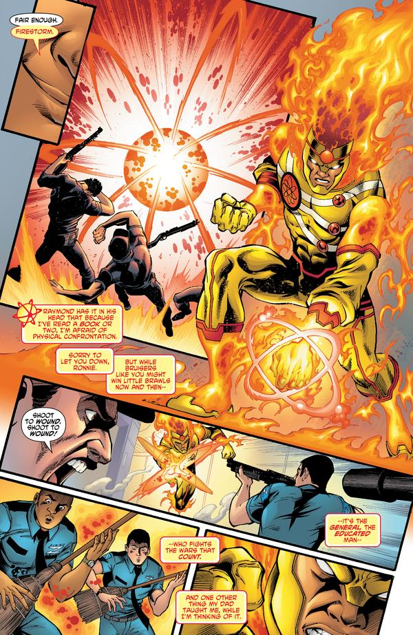 Fury of Firestorm #5 Preview drawn by Yildiray Cinar and Norm Rapmund