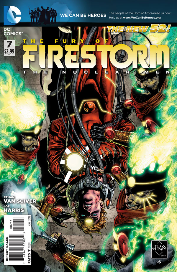 Fury of Firestorm: The Nulcear Men #7 by Ethan Van Scvier and Joe Harris