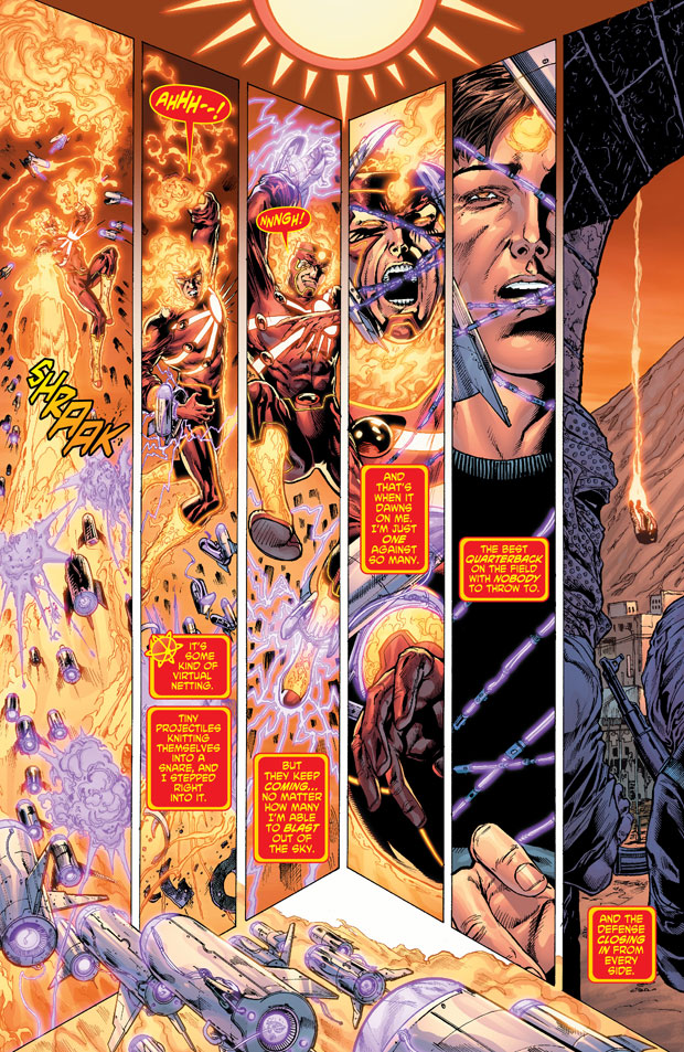 Fury of Firestorm: The Nuclear Men #7 page 3 by Joe Harris and Ethan Van Sciver
