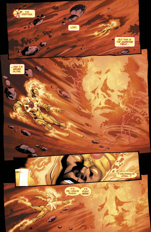 Fury of Firestorm: The Nuclear Men #10 by Joe Harris and Yildiray Cinar