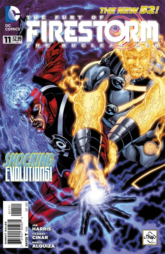 Fury of Firestorm: The Nuclear Men #11 cover by Ethan Van Sciver