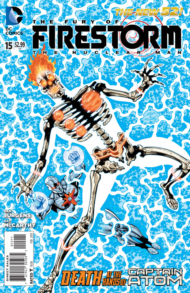 Fury of Firestorm The Nuclear Man #15 by Dan Jurgens, Ray McCarthy, and Hi-Fi Color