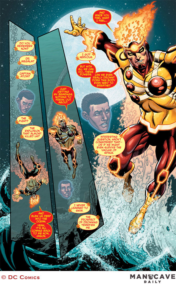 Fury of Firestorm The Nuclear Man #16 by Dan Jurgens, Karl Kesel, Ray McCarthy, and Hi-Fi Color on Man Cave Daily