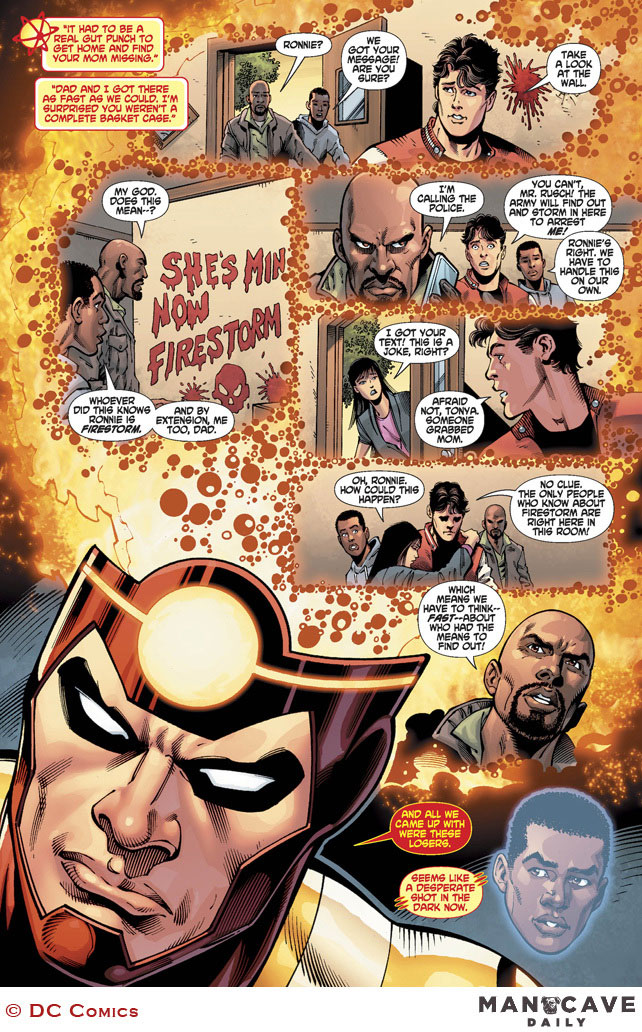 Fury of Firestorm: The Nuclear Man #18 by Dan Jurgens, Ray McCarthy, and Hi-Fi Color