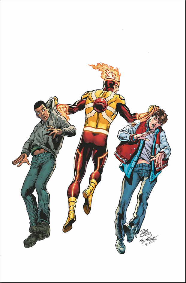 Fury of Firestorm: The Nuclear Man #20 cover by Dan Jurgens