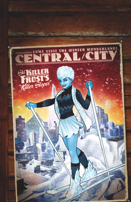 Flash #43 variant cover Killer Frost Bombshell
