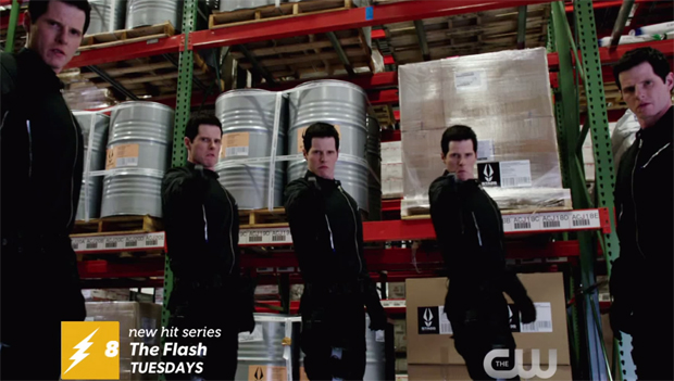 Michael Smith as Multiplex Danton Black on The Flash