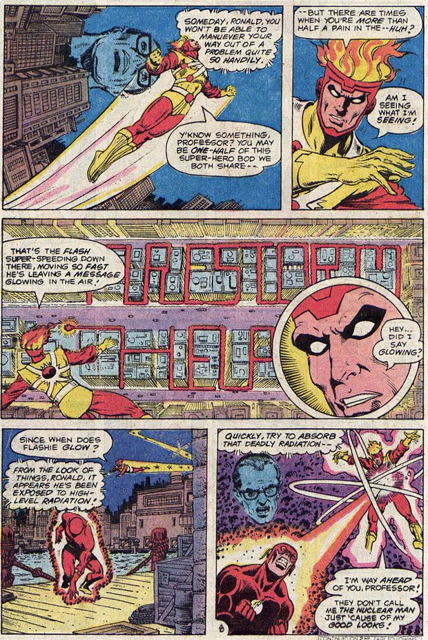 Flash #293 by Gerry Conway, George Perez, and Rodin Rodriguez
