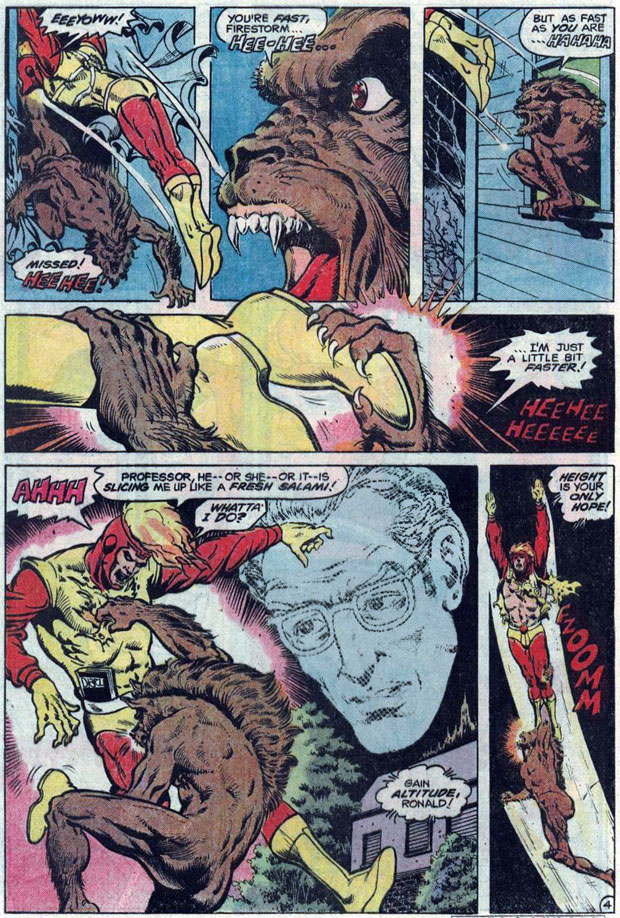 Flash #302 with art by Denys Cowan and Rodin Rodriguez