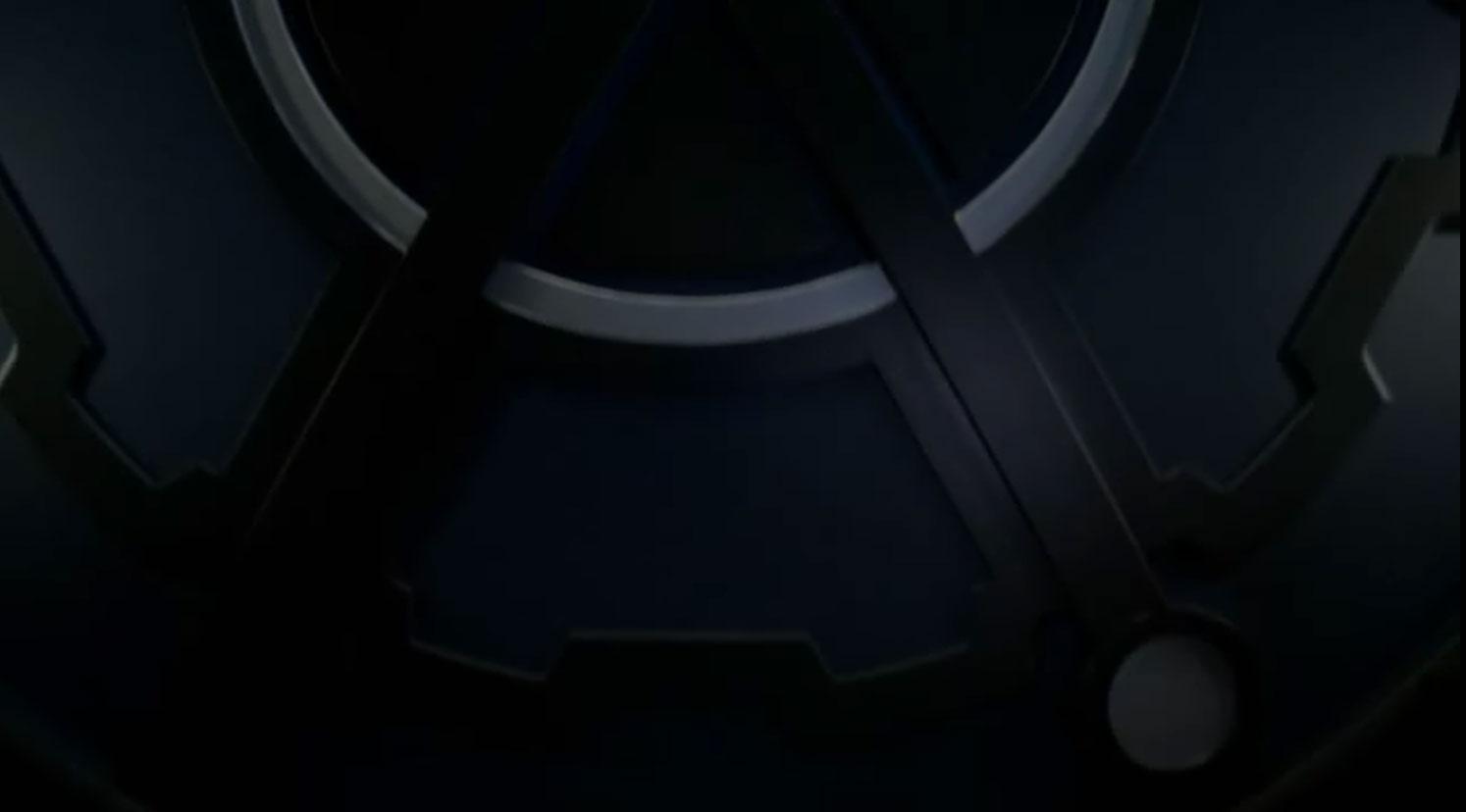 The Flash Particle Accelerator door with Firestorm symbol