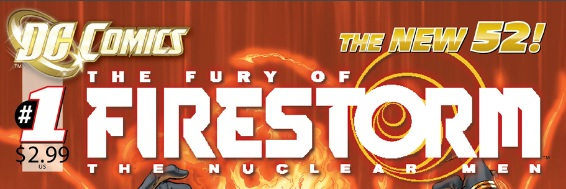 The Fury of Firestorm: The Nuclear Men #1 masthead