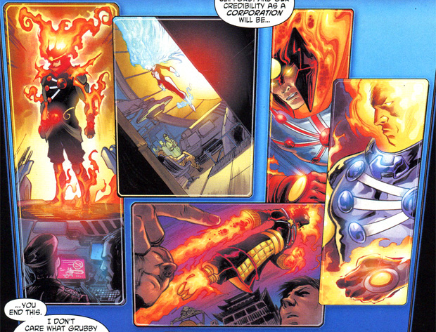 Firestorms from FURY OF FIRESTORM #1