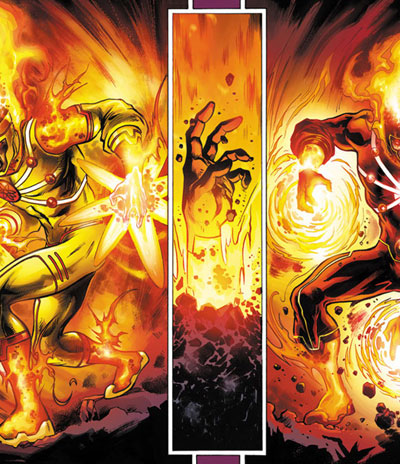 Doctor Loren Fortier, Killer Frost, in FURY OF FIRESTORM #1