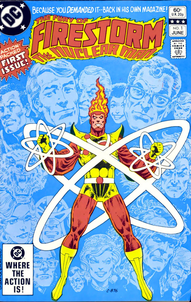 Fury of Firestorm #1 cover by Pat Broderick
