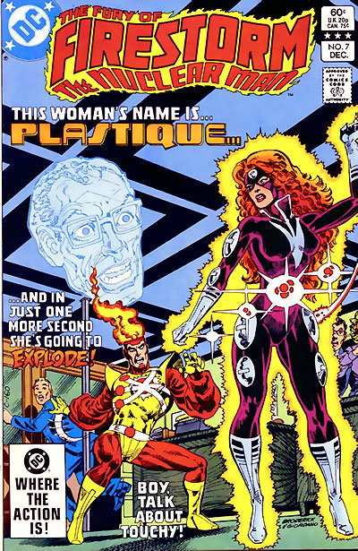 Fury of Firestorm #7 cover by Pat Broderick