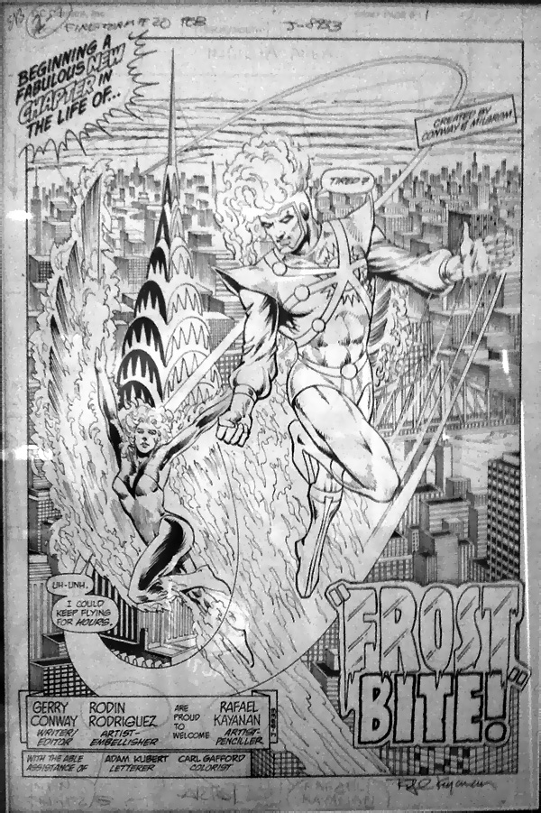 Fury of Firestorm #20 by Gerry Conway, Rafael Kayanan, and Rodin Rodriguez