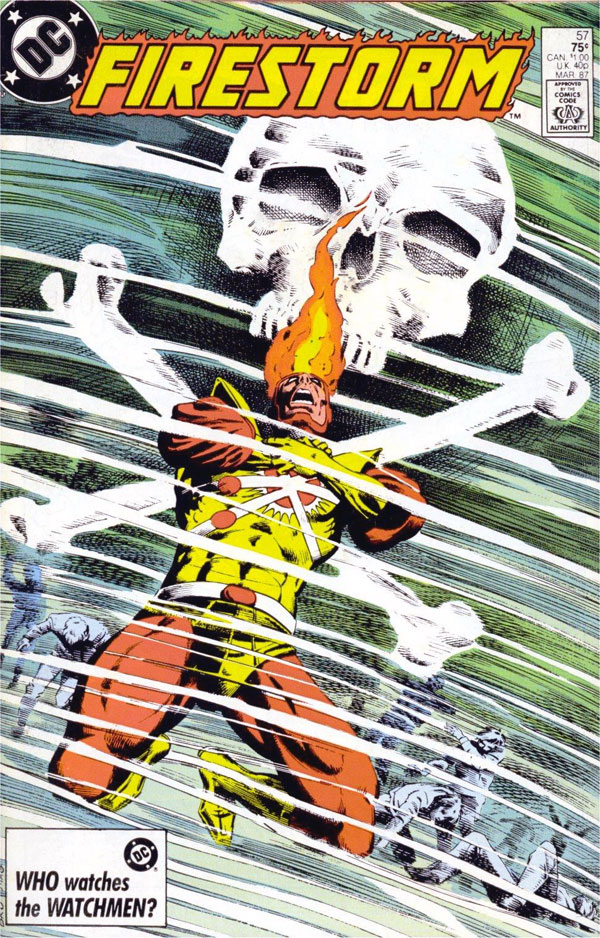 Fury of Firestorm #57 cover
