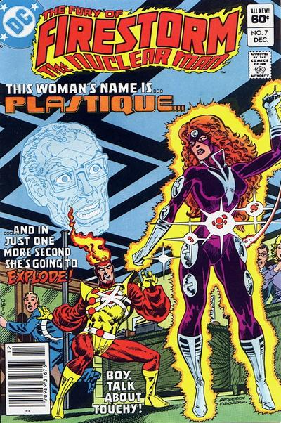 Fury of Firestorm #7 featuring Plastique