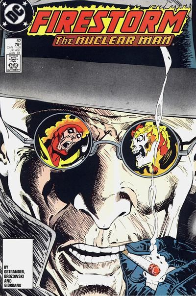 Fury of Firestorm #62 featuring Zastrow