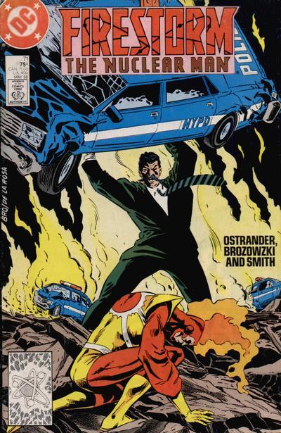 Firestorm the Nuclear Man #71 featuring Stalnoivolk and Zastrow