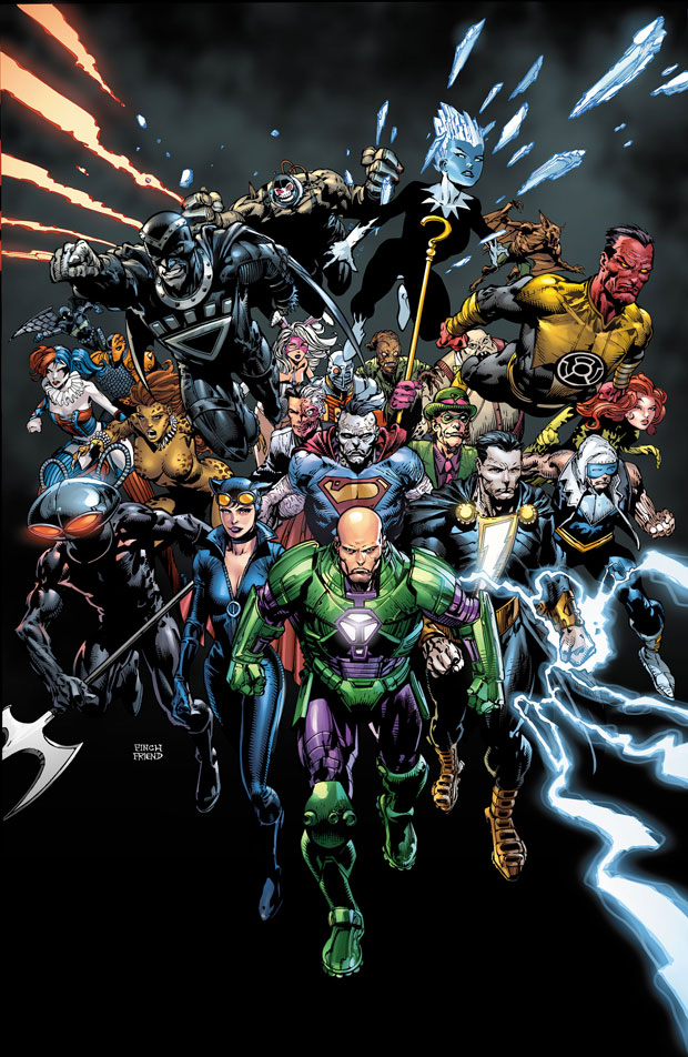 Forever Evil #1 cover by David Finch