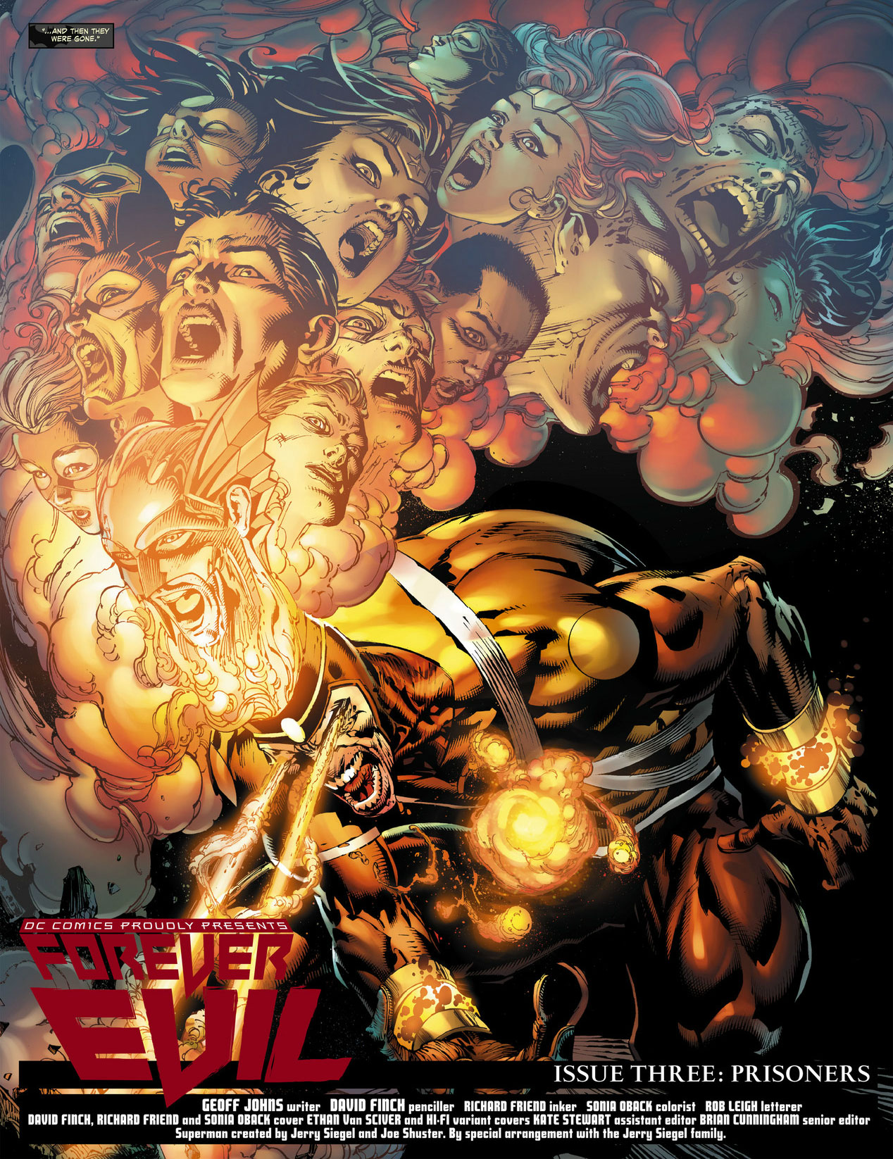 Forever Evil #3 by Geoff Johns and David Finch featuring Firestorm