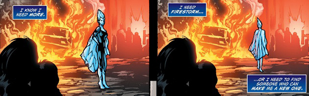 Killer Frost in Forever Evil: A.R.G.U.S #2 by Sterling Gates and Neil Edwards