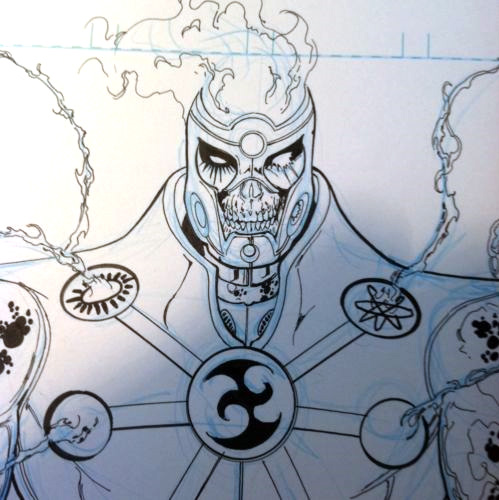 Fury from Fury of Firestorm by Ethan Van Sciver