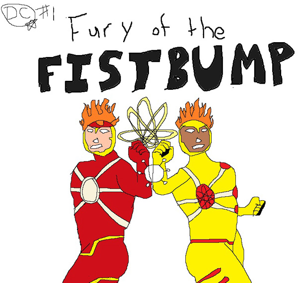 Fury of Firestorm: The Nuclear Men cover parody.