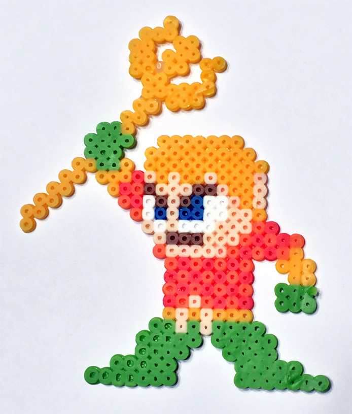 Aquaman fuse beads melty beads perler beads