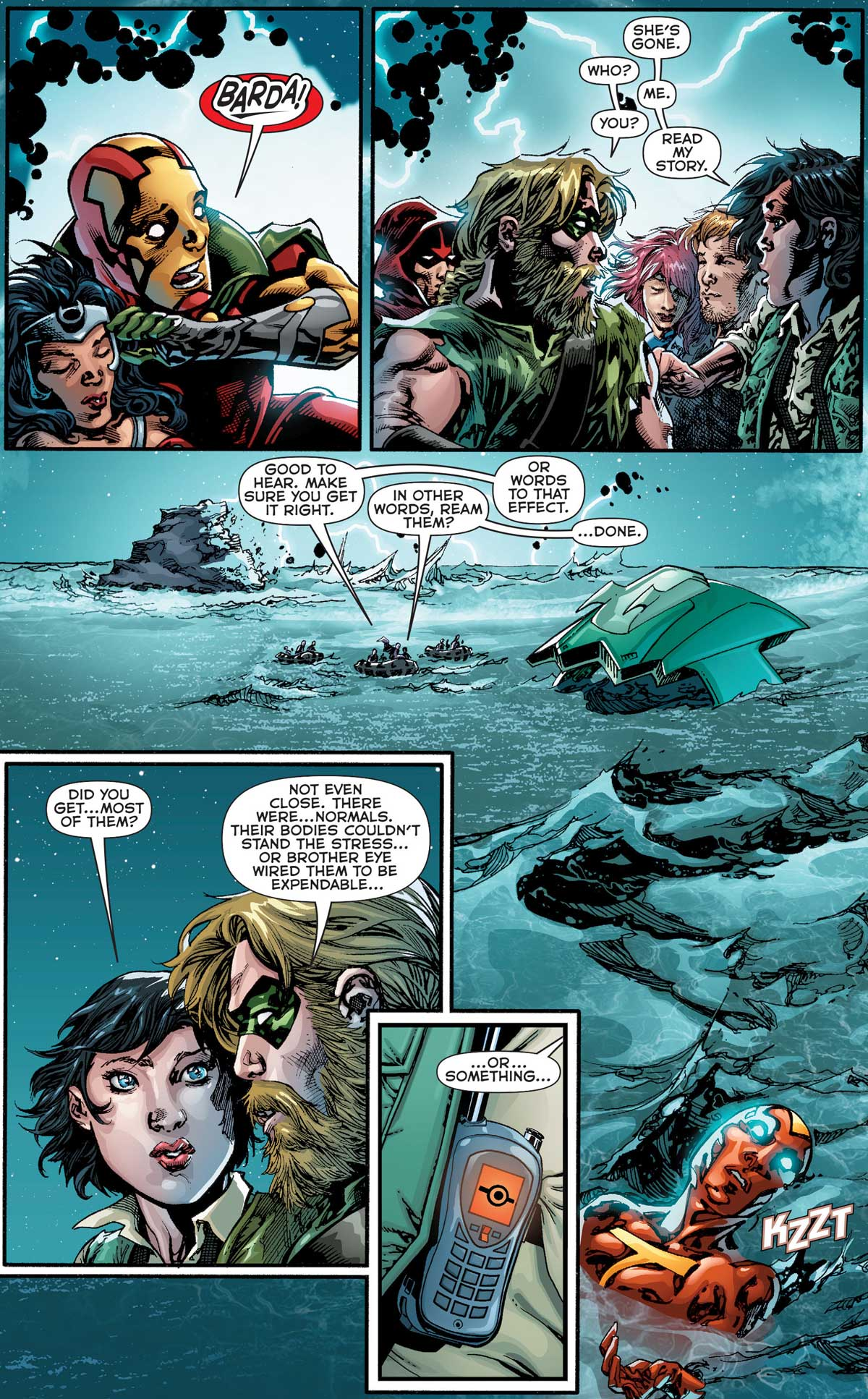 The New 52: Futures End #30