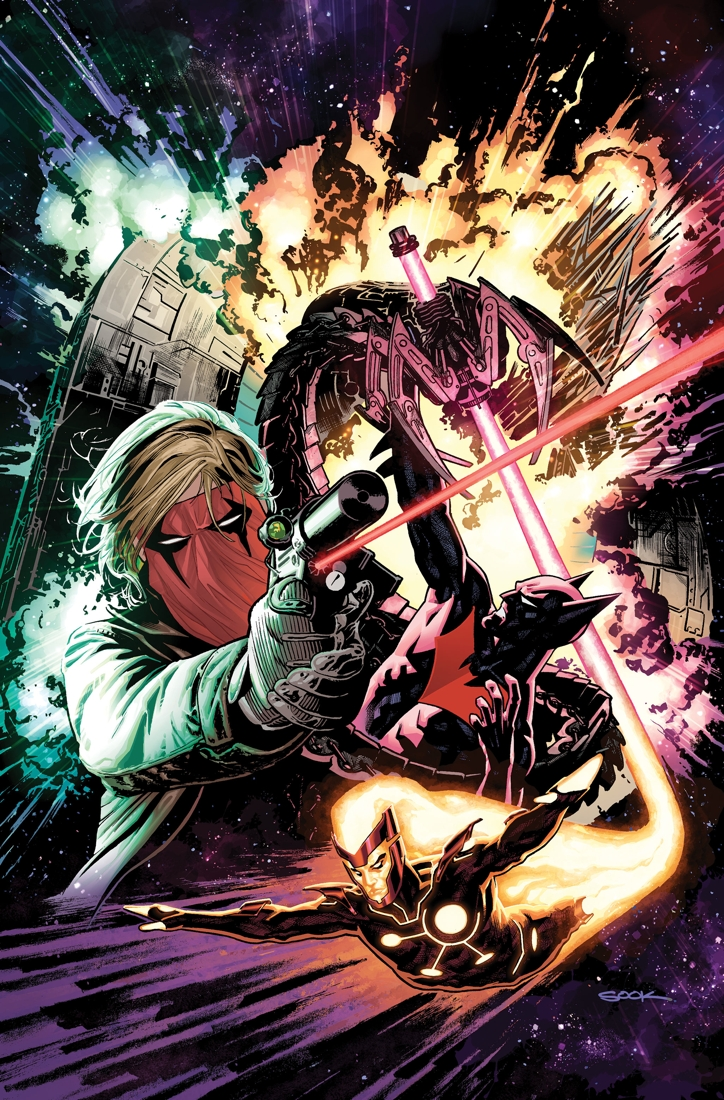 The New 52 - Futures End #1 cover by Ryan Sook